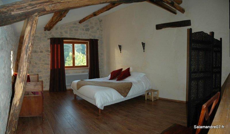 Chambre Andalouse - La Salamandre chambres d'hôtes de charme en Ardèche